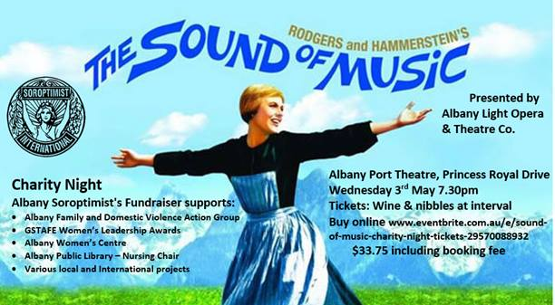 Sound of Music Charity Night