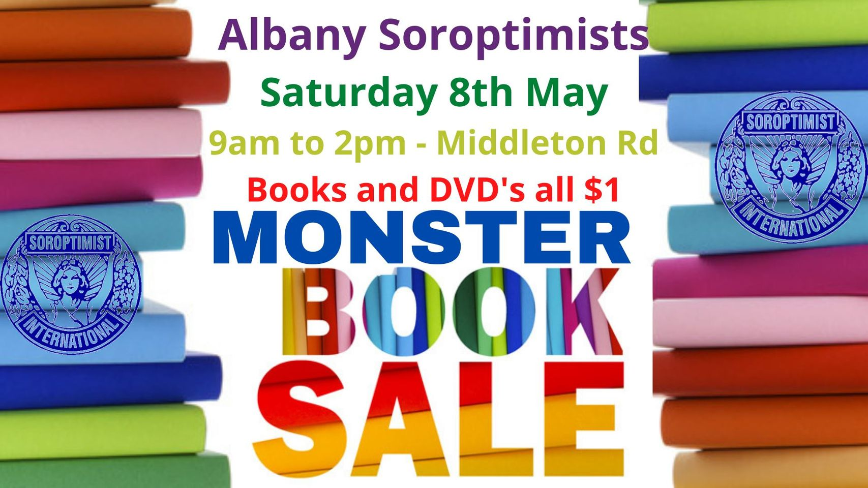 Monster Book Sale SI