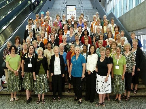 Soroptimists attending the International Convention